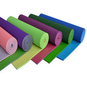 Eco-friendly PVC two-toned yoga mat from China (mainland)
