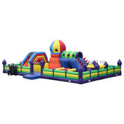 Outdoor Playground Inflatable Trampoline from China (mainland)