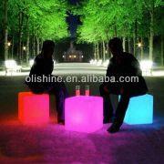 China Led Cube Chair/modern Led Cube /light Led Cube Furniture
