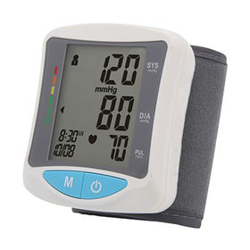 China Digital Blood Pressure Monitor, Wrist Type