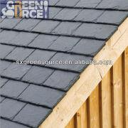 China Black Roof Slate Garage Roofing Materials