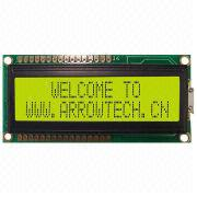 16-letter LCD Displays from China (mainland)