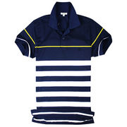 Single-jersey Short-sleeved Men's Polo Shirt from China (mainland)