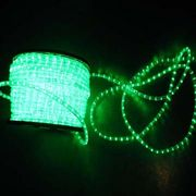 Green 2wires Round 24V LED Rope Light from China (mainland)