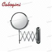 China Stick On Wall Bathroom Round Frame Decorative Magnifying Mirrors