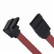 Serial ATA Female Solder Type Right and Straight Angle Cables with Low Power Consumption from AVO Technology Limited