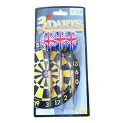 3*16g brass plated darts from China (mainland)