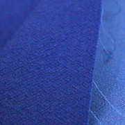 Double-layer coarse hemp knitting polyester fabric from China (mainland)
