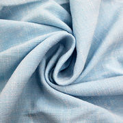 Slub linen knitted polyester fabric from China (mainland)