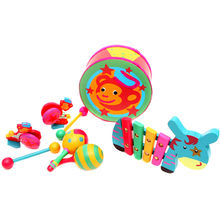 Wooden Kid's Musical Toys Set