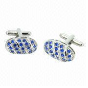Crystal Cufflinks from China (mainland)