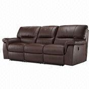 Reclining Leather Sofas Manufacturer