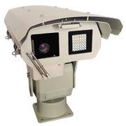 China Heavy duty PTZ Camera with IR Illuminator and Auto Wiper
