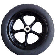 "12"" Black PU Foamed Wheelbarrow Wheel from China (mainland)"
