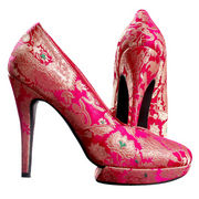 Ladies' high-heel shoe from India