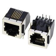 Single port half shielded phone jacks from China (mainland)