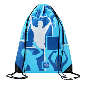 Drawstring Bag, made of 210D, for Sports Use, Customized Logo and Colors Accepted from Fuzhou Oceanal Star Bags Co. Ltd