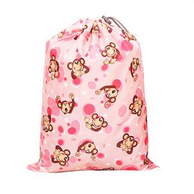 Cute Animal Kids Drawstring Bags, Waterproof and Durable from Fuzhou Oceanal Star Bags Co. Ltd