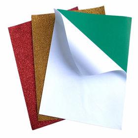 Adhesive Glitter EVA Foam Sheet Manufacturer