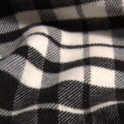 Single-wool flannel and T/R fabric grid from China (mainland)