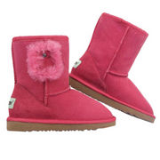 Fashionable children's sheepskin snow boots from China (mainland)
