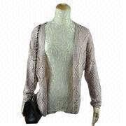 Ladies' Cardigan Sweater from China (mainland)