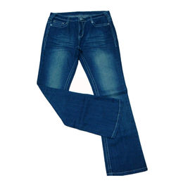100% cotton women's denim jeans from China (mainland)