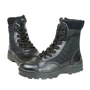 Leather Combat Boots from China (mainland)