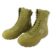 Action Leather and 900D Nylon Combat Boots from China (mainland)