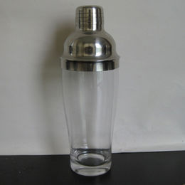 Clear Glass Cocktail Shakers from China (mainland)