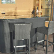 Outdoor wicker bar stool furniture from China (mainland)