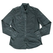 Men's solid shirt from China (mainland)