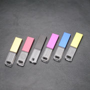 Mini Colorful LED USB Flash Memory with 4GB Capacity, 3D Logo from Shenzhen Sinway Technology Co. Ltd