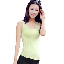 Women's tank top from China (mainland)
