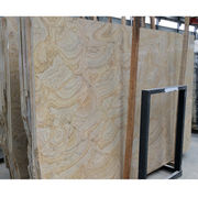 Yellow wooden marble stone from China (mainland)