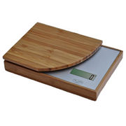 Electronic bamboo kitchen scale from China (mainland)