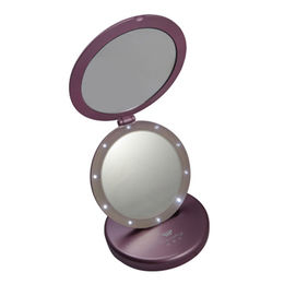 Double-sided 5X Magnifying Auto Folding Stand Dressing Table Mirror for Makeup Beauty Salon from China (mainland)