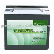12V/24Ah UPS Silicone Power Battery from China (mainland)