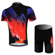 Black/Red Cycling Clothing from China (mainland)