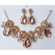 Luxurious Gold Fashion Party Jewelry Set from China (mainland)