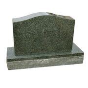 Forest Green Granite Headstone from China (mainland)