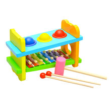 Hot Sale Wooden Knock Xylophone Toy Manufacturer