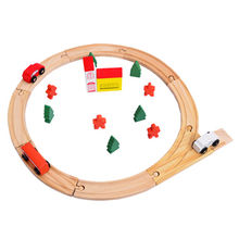 Wooden railway train toy Manufacturer