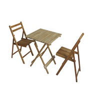 Wooden chair and table from China (mainland)