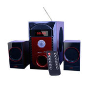 Violet red color design 2.1CH computer speakers from China (mainland)