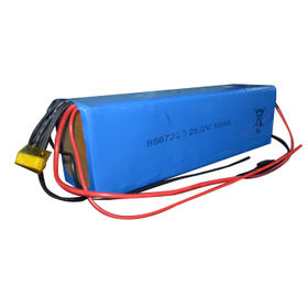 Lithium ion polymer battery pack 8S1P 25.2V 10Ah with BMS from Shenzhen BAK Technology Co. Ltd