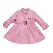 Girls' wind coat from China (mainland)
