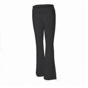 Ladies' Cotton/Spandex Fitness Pant from China (mainland)