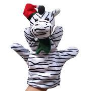 Stuffed and Plush Zebra Hand Puppet from China (mainland)