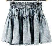 Women's denim skirt from China (mainland)